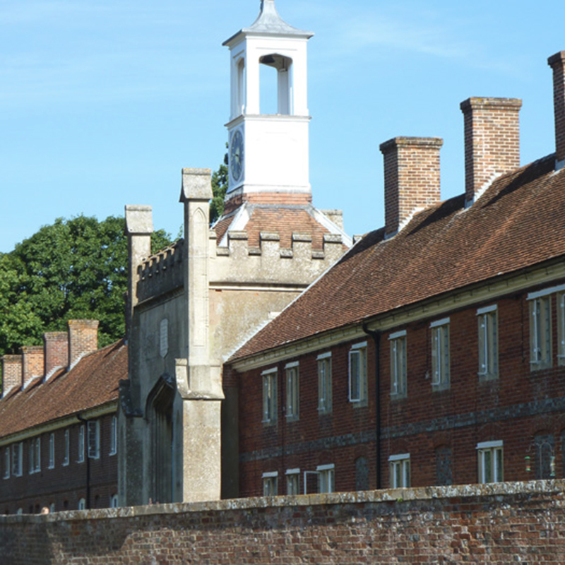 The Duchess of Somerset Almshouses near Marlborough